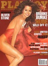 NEW Playboy November 2004 / Brooke Burke / Oliver Stone & John Carmack Interview
