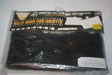 """X-0Small Ladies Women Lace Belly Band Gun Holster Black USA Made 32.5""""x4"""" Sample"""