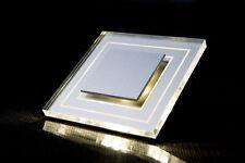LED Wand Treppenbeleuchtung ROMA 1,8W 230V Warmweiß ALU MOD-02/TR/W/AL/230V