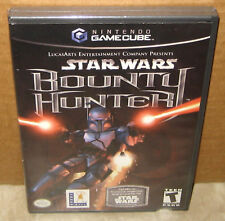 Star Wars: Bounty Hunter (GameCube, 2002) GC & Wii New Sealed + Jango Fett Card