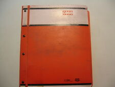 Vintage Tenneco Case 600 Combine Factory Service Shop Repair Manual OEM Binder