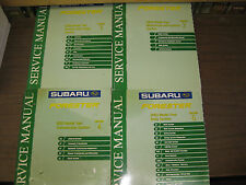 2003 SUBARU FORESTER SERVICE MANUAL SET, SECTIONS 1,2,4,6