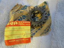 Suzuki TC125 1972-77,RV125 1975-78   oem 3rd  gear Driven P.N  24331-28200