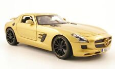MAISTO MERCEDES SLS GOLD 1:18 Nice to own! Last One!