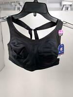 Champion Women's Distance Underwire 2.0 Sports Bra, Black, 34/36C/D