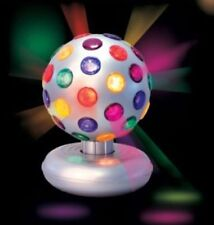 NEW DISCO PARTY ROTATING LIGHT PATTERNS ON YOUR WALL CEILING DISCO BALL LAMP 6""