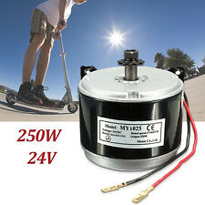 24V 250W Electric Motor Brushed 2750RPM 2-Wired Chain For E-Bike Scooter MY1025