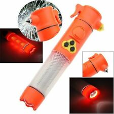 Car Safety and Security Tool Kit Hammer 5 in 1 +Emergency Alarm+Flashlight+MORE