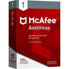 McAfee Antivirus Plus 1year Unlimited Devices PC Mac Phone Tablet Android