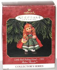 1991 Hallmark Collector's Series Madame Alexander Little Red Riding Hood.