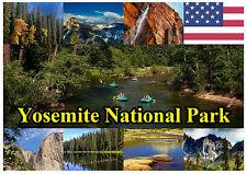 YOSEMITE NACIONAL PARQUE, USA - RECUERDO ORIGINAL IMÁN DE NEVERA NAVIDAD