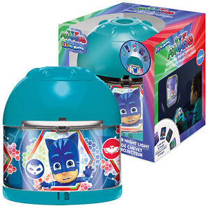PJ Masks LED Image Portable Colorful Projector Night Light Sleeping Mood Lamp