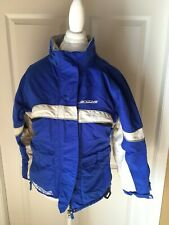 Arctiva FLOW Insulated WOMEN'S SNOW Snowmobile Riding Jacket Blue MEDIUM