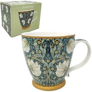 Large Fine China Breakfast Tea Coffee Mug William Morris Pimpernel Floral Design