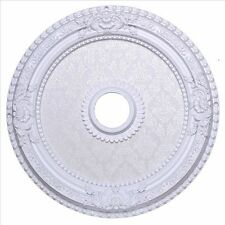"24"" BEAUTIFUL WHITE CEILING MEDALLION CHANDELIER DINING OR LIVING ROOM BEDROOM"