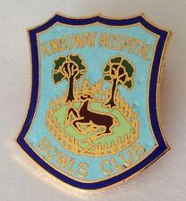 Kingsway Hospital Bowling Club Badge Pin Rare Deer Design Vintage (M12)