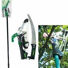 More details for new ratchet tree lopper & telescopic pole saw pruning cutting branch telescopic