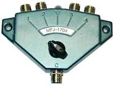 MFJ-1704 ANTENNA SWITCH W/ GROUND LIGHTNING PROTECTION. AUTHORIZED DEALER F/S