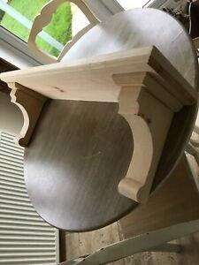 100cm  Long Joinery Grade Redwood Mantel (Barewood)