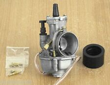 Carburetor PWK 28mm W/ Intake Boot Needle Jet Kawasaki KX80 KX85 KX100 KX125