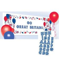 GB Create Your Own Banner Royal Wedding Street Party Decoration
