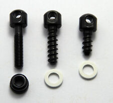 "Black Rifle&Shotgun Swivel Screw Base Sling Swivel Base Kit 1/2"",3/4"",7/8""Rear"