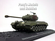 M26 Pershing Main Battle Tank 1/72 Scale Diecast Model by Altaya
