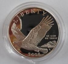 2008 US Mint Bald Eagle Proof Silver Dollar Commemorative Coin Set