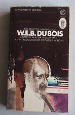 THE SELECTED WRITINGS OF W.E.B. DU BOIS Mentor 1970 RARE pb