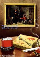 Rowenta Snip Feuerzeug Reklame 1955 Atos Zigaretten Werbung Pfau lighter ad  ßß