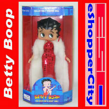 "Betty Boop 10"" Mini Doll Glamor Night Dress w/ Doll Stand Precious Kids Cartoon"