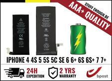 AAA+ BATTERY/BATTERIJ/BATTERIE FOR IPHONE 4 4S 5 5S 5C SE 6 6+ 6S 6S+ 7 7+ PLUS