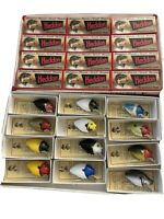 HEDDON PUNKINSEED 1ST 9630 FISHING LURE (12) LURE BOX SET #1