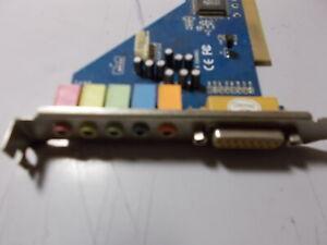 CSDX S  6 CHANNEL CM18738/PCI  PCI SOUND CARD