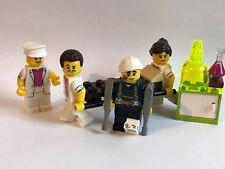 Genuine Lego Piezas-unidad de emergencia de hospitales - 4 Minifiguras-sólo piezas de Lego
