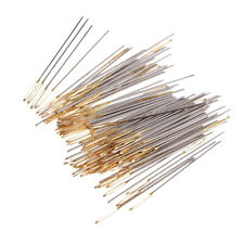 100 Pack cross stitch needles size 26, Assorted