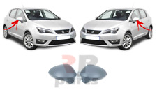 FOR SEAT IBIZA 08-16 LEON 05-12 NEW WING MIRROR COVER CAP PRIMED PAIR SET