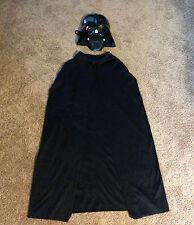 Rubie's Halloween Costume STAR WARS Darth Vader Child Mask w/ Black Cape
