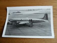SABENA, Douglas Dc-6, OO-CTL, circa 1960s, photograph