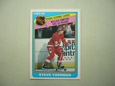 1984/85 O-PEE-CHEE NHL HOCKEY CARD #385 STEVE YZERMAN ROOKIE RB EXNM SHARP!! OPC