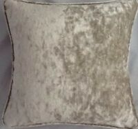 A 16 Inch cushion cover in Laura Ashley Caitlyn Sable Velvet Fabric
