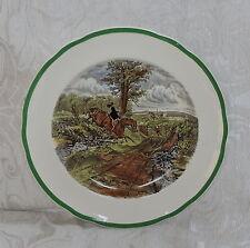 Fox Hunting Theme Copeland Spode 23 cm Plate n 12 The Last Draw  c1960 Piatto