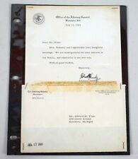 New Listing1963 Attorney General Robert Kennedy Signed Autograph Typed Letter Rfk