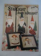 Starlight Angels Delight Christmas Snowmen Painting Tole Folk Art Pattern Book