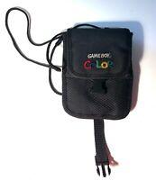 Official OEM Nintendo Gameboy Color Carrying Travel Case Black Storage Bag