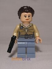 Lego Princess Leia (No Cape) from Set 75094 Shuttle Tydirium Star Wars NEW sw643