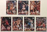 Upper Deck 1998 The Jordan Files MJ 23 Michael Jordan Basketball Card Lot of 7