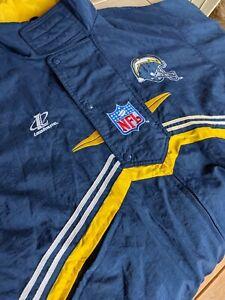 Vintage Logo Athletic San Diego Chargers Football Jacket