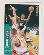 1996-97 Upper Deck Collector's Choice #329 David Robinson - San Antonio Spurs