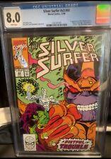 Silver Surfer #V3 #44 CGC Graded 8.0 Marvel Comics Cents Direct First Gauntlet
